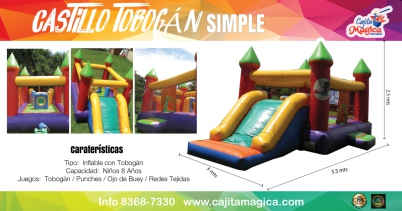 Castillo-Tobogán-Simple