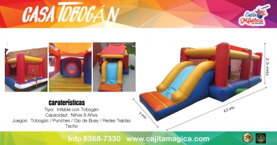 Inflable-Casa-Tobogan