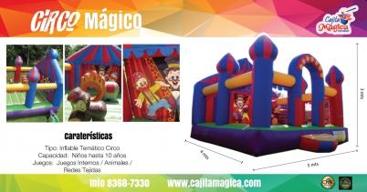 Inflable Circo Mágico