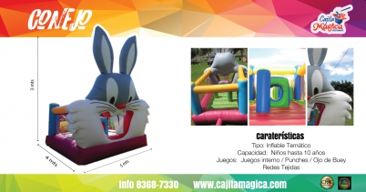 Inflable Conejo