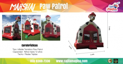 Inflable Paw Patrol